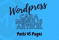 cara menulis artikel di wordpress