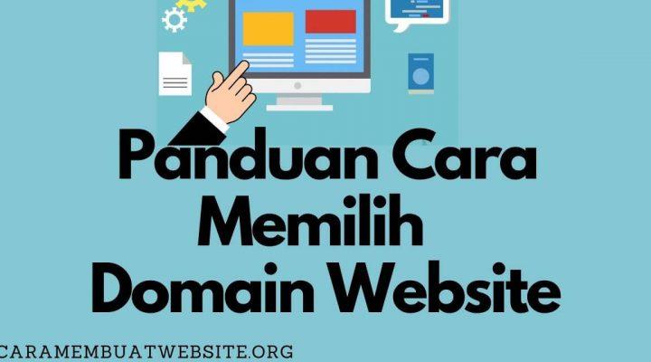 panduan cara memilih website