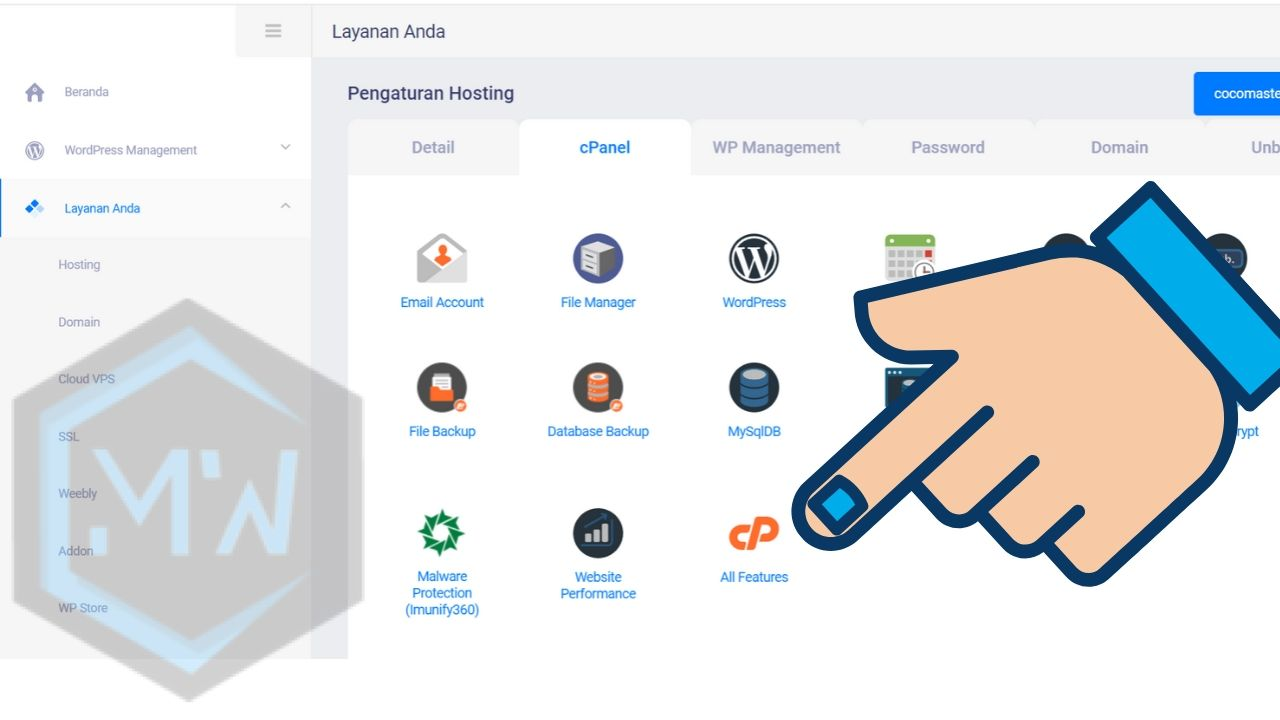 all feature cpanel